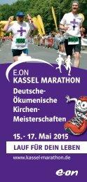 Deutsche Kirchen- Meisterschaften - Kassel Marathon