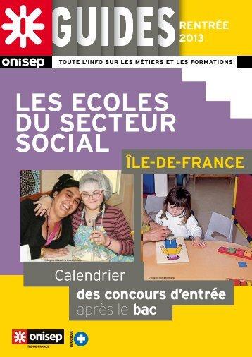 LES ECOLES DU SECTEUR SOCIAL - Orientation