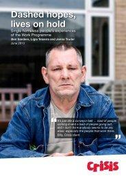 Dashed hopes, lives on hold - Social Welfare Portal