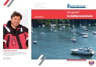 Vis Sjøvett - ta båtførerprøven - Sjøfartsdirektoratet