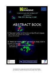 molecular-morphology-techniques-in-neurobiology ... - BIO-IMAGINE