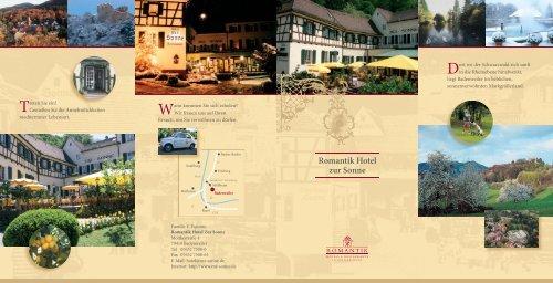 Romantik Hotel zur Sonne - Romantik Hotel & Restaurant zur Sonne ...
