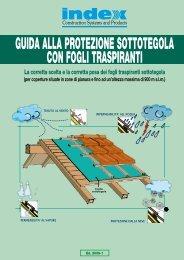 guida alla protezione sottotegola con fogli traspiranti - Index S.p.A.