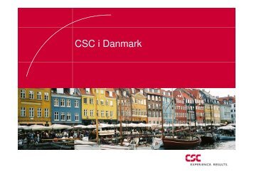 CSC i Danmark