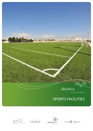 SPORTS FACILITIES - Albufeira, a city of sport.