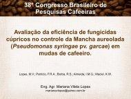 Avaliação da eficiência de fungicidas cúpricos no controle da ...