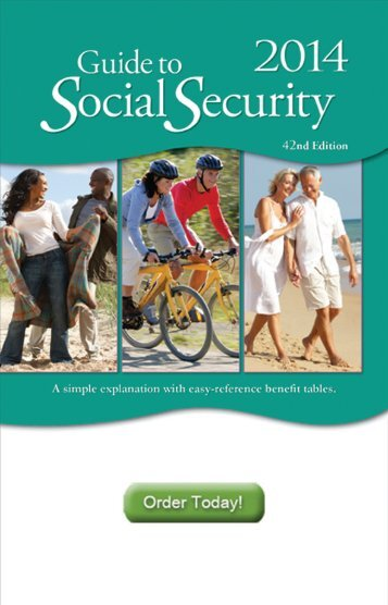 appointed representative guide to requesting social security rh yumpu com Social Security Calculator Social Security Retirement Information