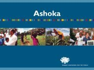 Ashoka Overview.pdf - Youth Economic Opportunities