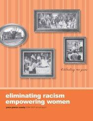 eliminating racism empowering women