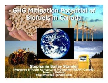 Power Point Presentation - Resource Efficient Agricultural ...