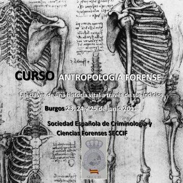 Curso de Antropología forense