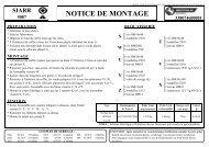 NOTICE DE MONTAGE - Westfalia