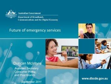 Duncan McIntyre - Australian Communications Consumer Action ...