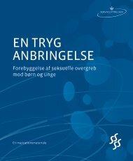 EN TRYG ANBRINGELSE - Socialstyrelsen