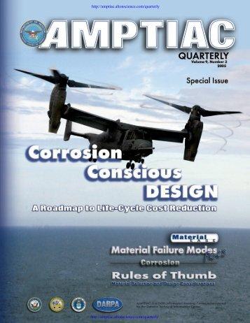 AMPTIAC Quarterly, Vol. 9, No. 3, Special Issue - Advanced ...