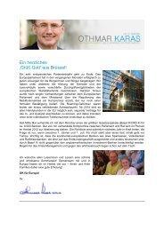 Ein herzliches 'Grüß Gott' aus Brüssel! - PSR Institut