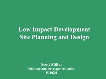 LID Site Planning - Nbwctp.org