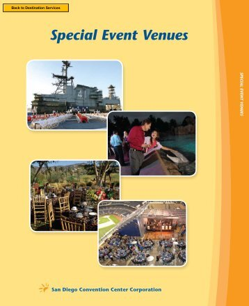 Special Event Venues - San Diego Convention Center