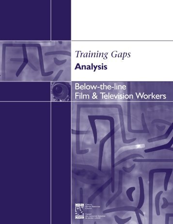 Below-the-Line Film and Television Workers - Conseil des ...