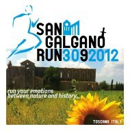 run your emotions between nature and history - Lazio Runners Team