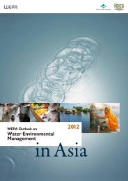 WEPA Outlook on Water Environmental Management in Asia 2012