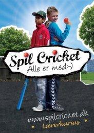 Cricket hitter i idrætstimen - Dansk Cricket Forbund