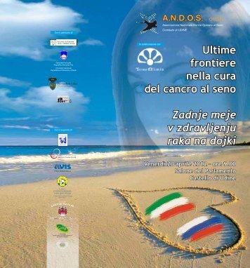 depliant convegno - Provincia di Udine
