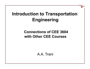 Introduction to Transportation Engineering - Air Transportation ...