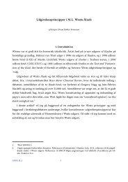 Udgivelsesprincipper i M.L. Wests Iliade - Aigis