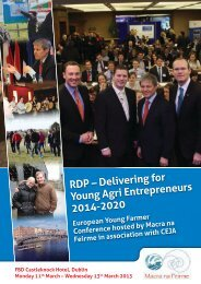 European Young Farmers Conference Report - Macra na Feirme