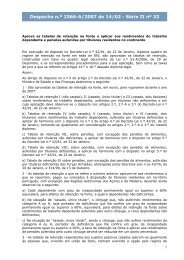Despacho n.º 2366-A/2007 de 14/02 - Série II nº 32 - Portal das ...