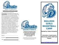 bulldog girls basketball camp - Johnston Community School District