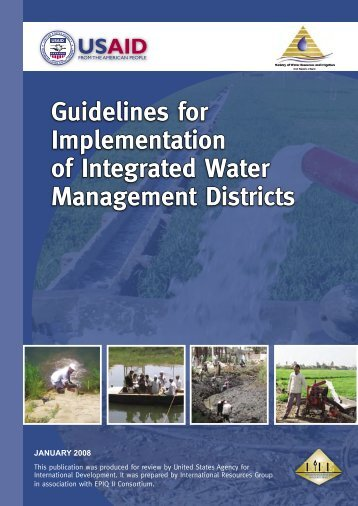 Guidelines for Implementation of Integrated Water Management ...
