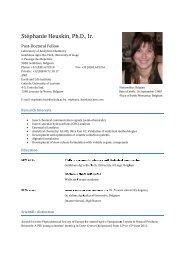 CV English S Heuskin mis jour le 07_07_11 - Doctorat
