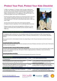 Protect Your Pool Protect Your Kids CHECKLIST (PDF)