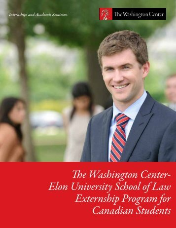 Elon University School of Law Externship Program for Canadian ...
