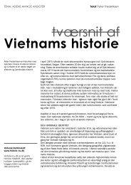 Tværsnit af Vietnams historie - Historie-nu.dk