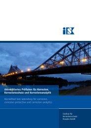 Broschüre als pdf herunterladen - Institut für Korrosionsschutz ...
