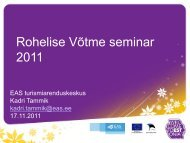 Rohelise Võtme seminar 2011 - Visitestonia.com