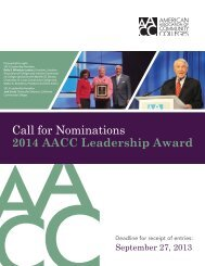 Download the nomination packet - American Association of ...