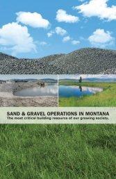 sand & gravel operations in montana - Montana Contractors ...