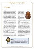 arbejdsark faraoer, pyramider og gudernes verden - Tutankhamon - Page 2