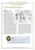 arbejdsark faraoer, pyramider og gudernes verden - Tutankhamon - Page 3