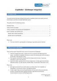 to download the User Guide PDF - Muddy Boots Software