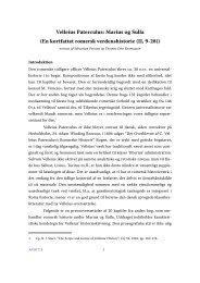 Velleius Paterculus: Marius og Sulla (En kortfattet romersk - Aigis