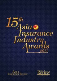 Asia Insurance Industry Awards - Asia Insurance Review