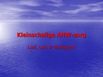 presentatie Cees Dekker - Spoed nu