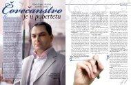 Čovečanstvo je u pubertetu - Magazin