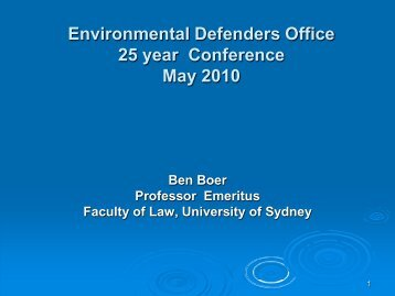 PDF 5.5 MB - Australian Network of Environmental Defender's Offices
