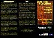In Gelnhausen wird Juan Melendez am Freitag, den 22. Juni 2007 ...